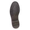Chaussure montante en cuir bata, Brun, 894-4561 - 26