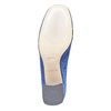 Bottine en velours bata, Bleu, 799-9643 - 26