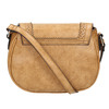 Sac Crossbody perforé bata, Brun, 961-3337 - 19
