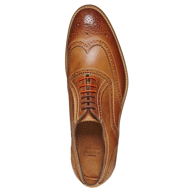Chaussure Oxford marron bata-the-shoemaker, Jaune, 824-8776 - 19