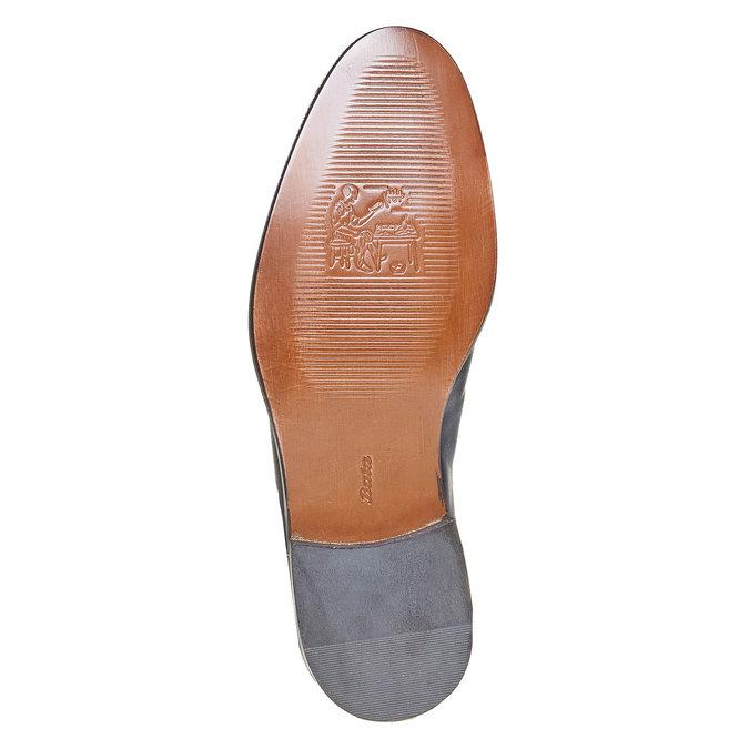 Derby en cuir bata-the-shoemaker, Violet, 824-9296 - 26