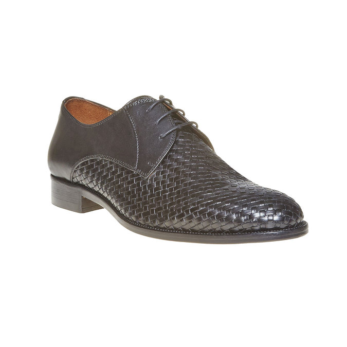 Derby homme en cuir bata-the-shoemaker, Noir, 824-6295 - 13