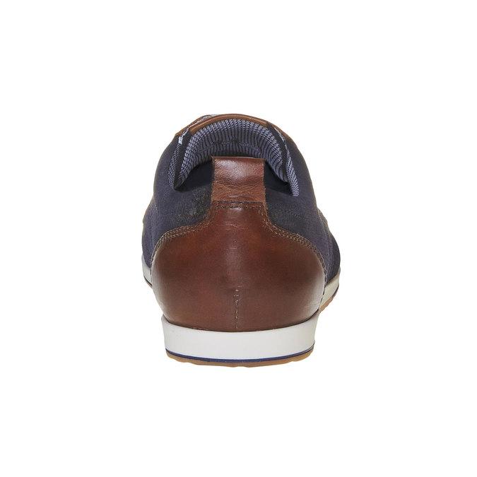 Chaussure en cuir homme bata, Violet, 823-9234 - 17