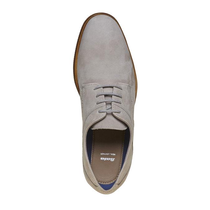 Chaussure Derby homme bata, Gris, 826-2241 - 16