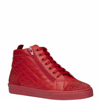 Basket montante rouge north-star, Rouge, 543-5127 - 13