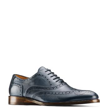 Chaussures en cuir Oxford shoemaker, Violet, 824-9594 - 13