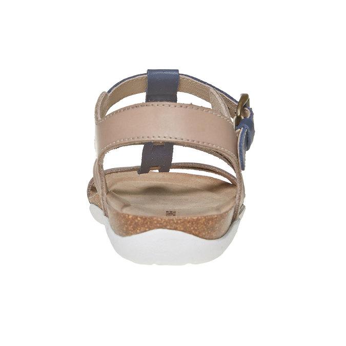 Sandale en cuir femme weinbrenner, Violet, 564-9315 - 17