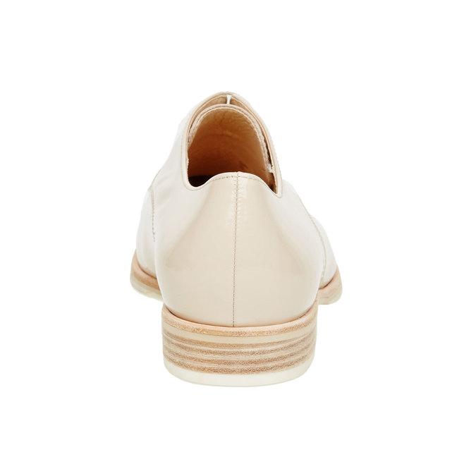 Chaussure lacée en cuir pour femme gabor, Jaune, 528-8001 - 17