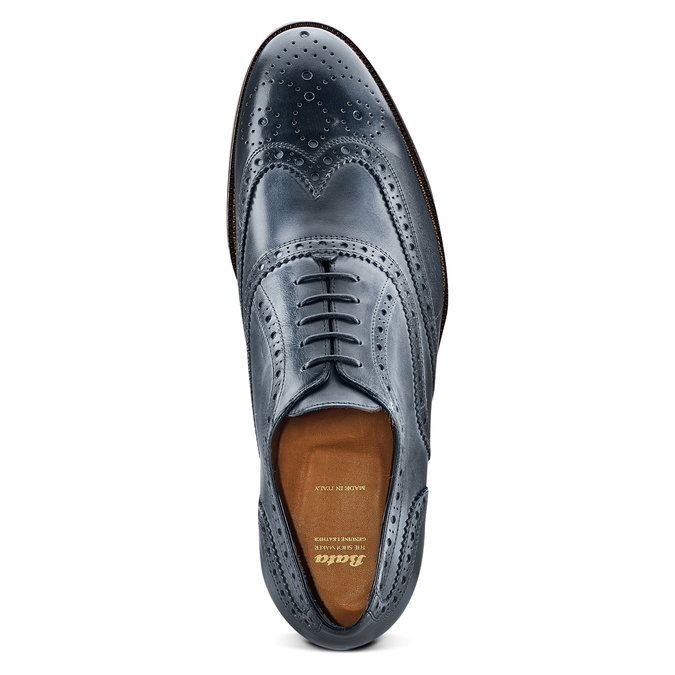 Chaussures en cuir Oxford bata-the-shoemaker, Violet, 824-9594 - 17