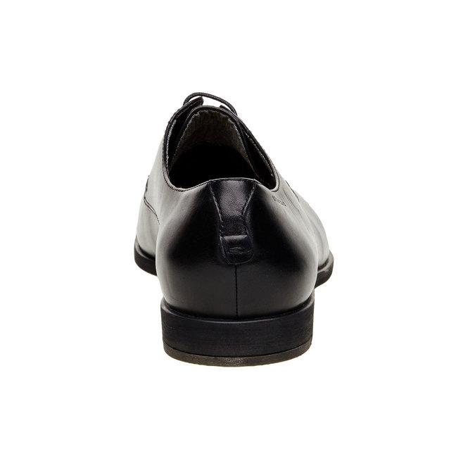 Chaussure lacée Derby en cuir vagabond, Noir, 824-6246 - 17