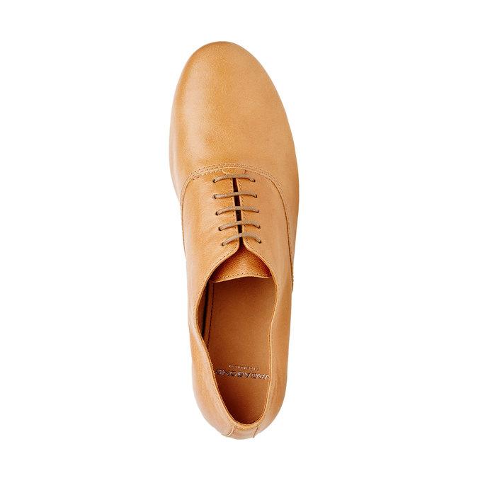 Chaussure lacée en cuir pour femme vagabond, Brun, 524-3013 - 19