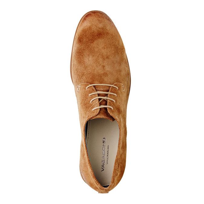 Chaussure lacée Derby en cuir vagabond, Brun, 823-3104 - 19