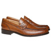 Penny Loafers en cuir pour homme bata-the-shoemaker, Brun, 814-3160 - 26