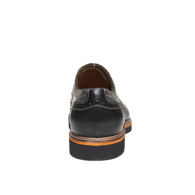 Oxford en cuir à semelle épaisse bata-the-shoemaker, Gris, 824-2132 - 17