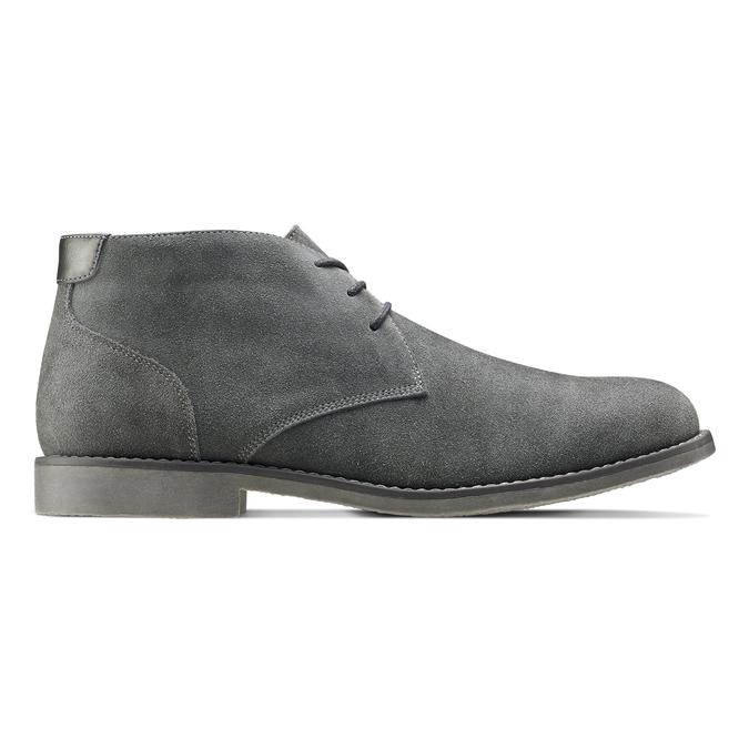 Chaussures Homme bata, Gris, 843-2380 - 26
