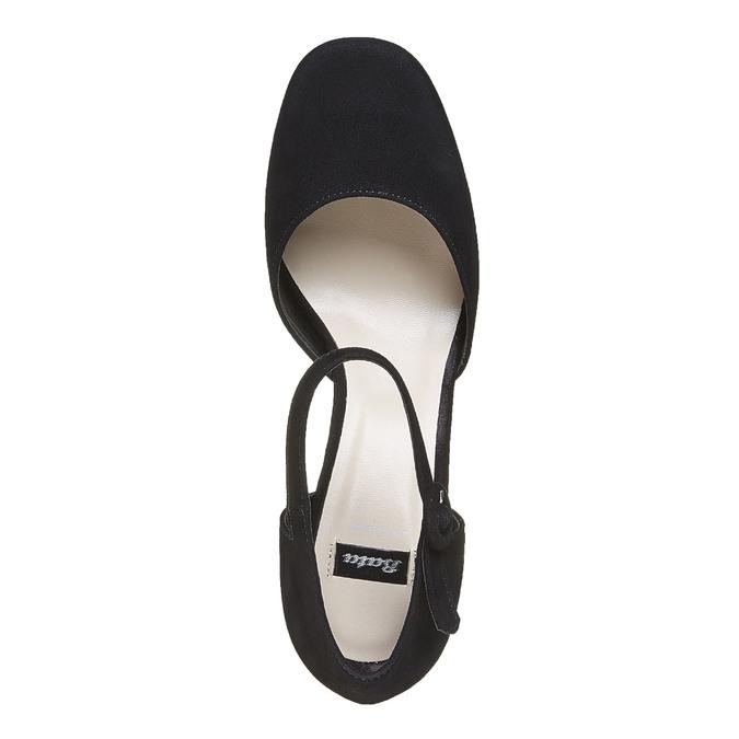 Chaussures Femme bata, Noir, 723-6372 - 19