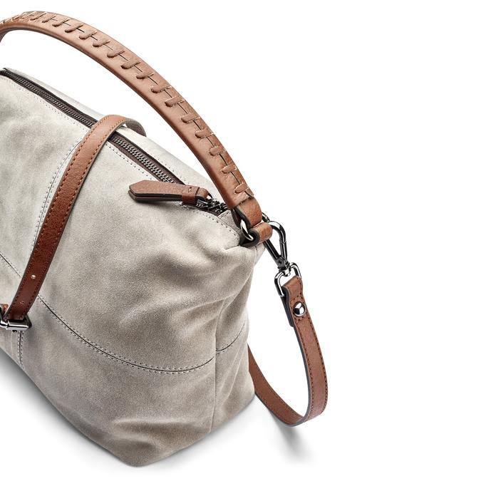 Sac à main en cuir dans le style Hobo bata, 963-2130 - 15