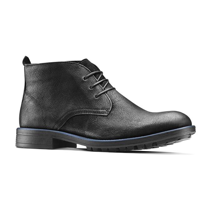 Chukka Boots en cuir pour homme bata, Noir, 894-6282 - 13