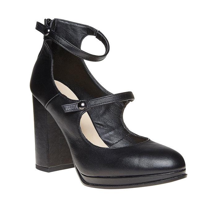 Chaussures Femme bata, Noir, 724-6471 - 13
