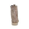 Botte en cuir à lacets pour femme bata, Gris, 593-2107 - 17