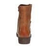 Bottine en cuir à zip weinbrenner, Brun, 594-3107 - 17