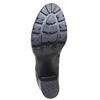 Chaussure en cuir pour femme bata, Noir, 794-6528 - 26