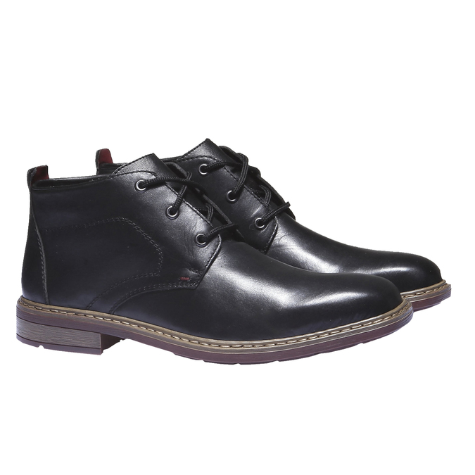 Bottines rieker, Noir, 894-6313 - 26