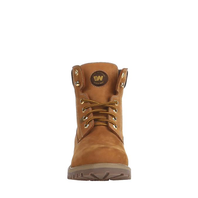 Chaussures en cuir à semelle tracteur weinbrenner, Brun, 896-8820 - 16