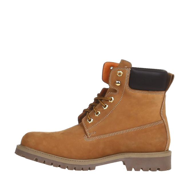 Chaussures en cuir à semelle tracteur weinbrenner, Brun, 896-8820 - 15