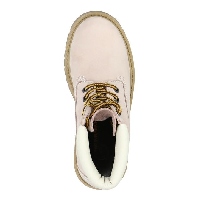 Chaussure pour enfant à semelle marquée weinbrenner-junior, Rouge, 396-5182 - 19