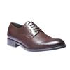 Chaussure lacée Derby en cuir bata, Brun, 824-4874 - 13