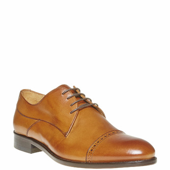Derby en cuir bata-the-shoemaker, Brun, 824-3296 - 13