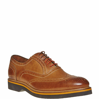Chaussure Oxford marron bata-the-shoemaker, Jaune, 824-8776 - 13