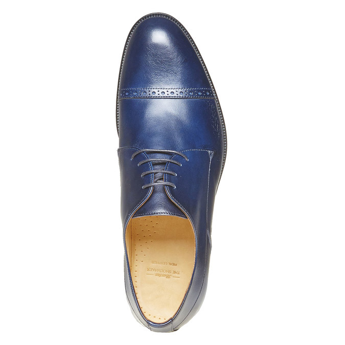 Derby en cuir bata-the-shoemaker, Violet, 824-9296 - 19