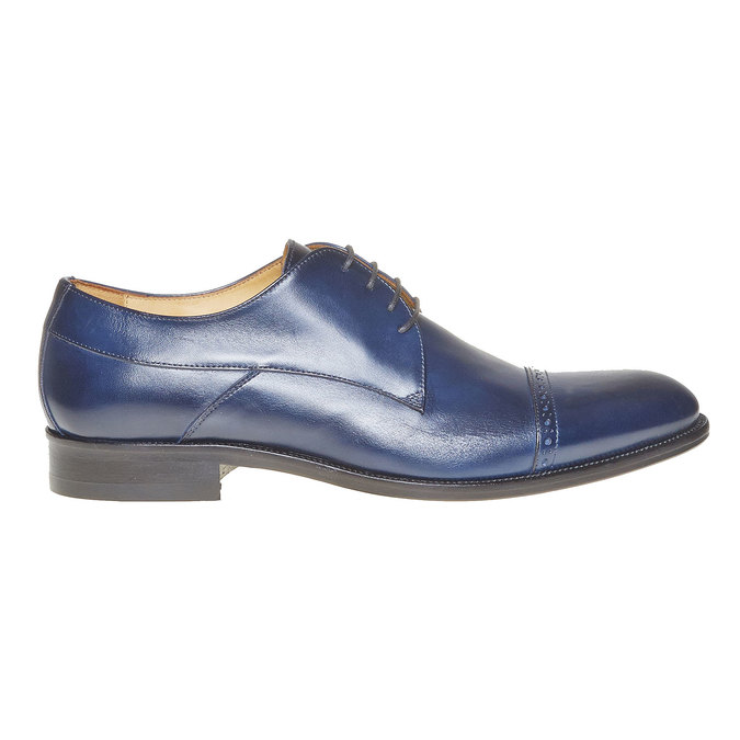 Derby en cuir bata-the-shoemaker, Violet, 824-9296 - 15