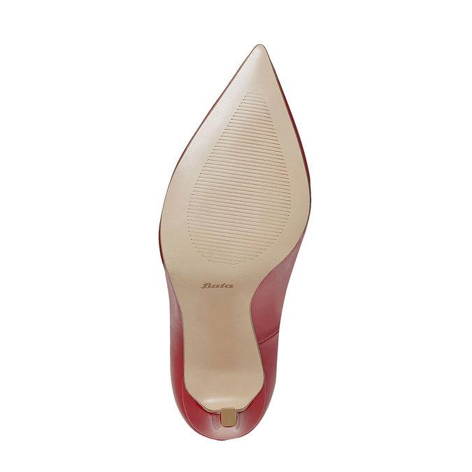 Escarpin verni femme insolia, Rouge, 721-5867 - 26