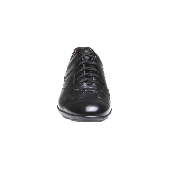 Chaussure de ville à lacet bata, Noir, 824-6988 - 16