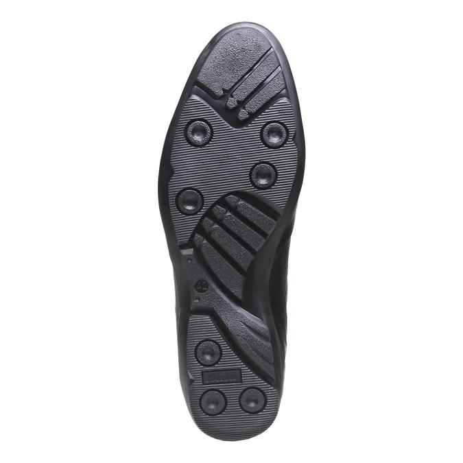 Chaussure de ville à lacet bata, Noir, 824-6988 - 18