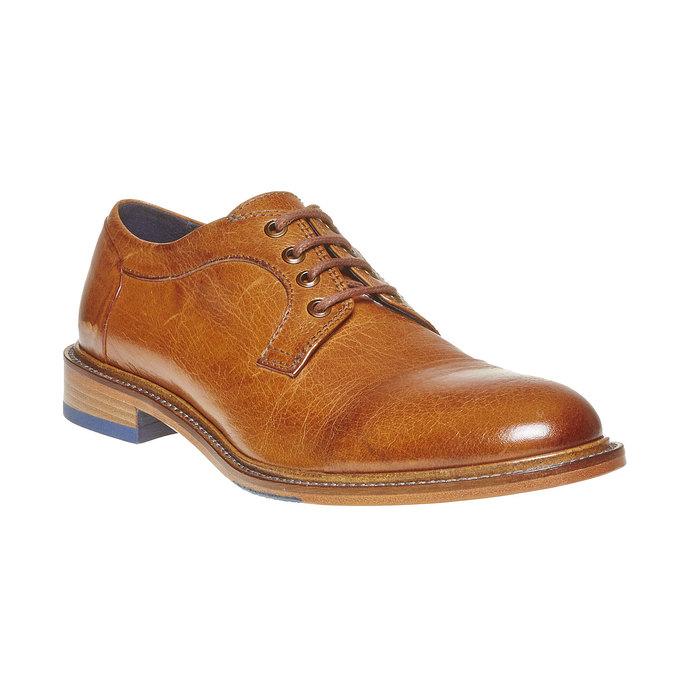 Chaussure en cuir homme bata-the-shoemaker, Brun, 824-3293 - 13