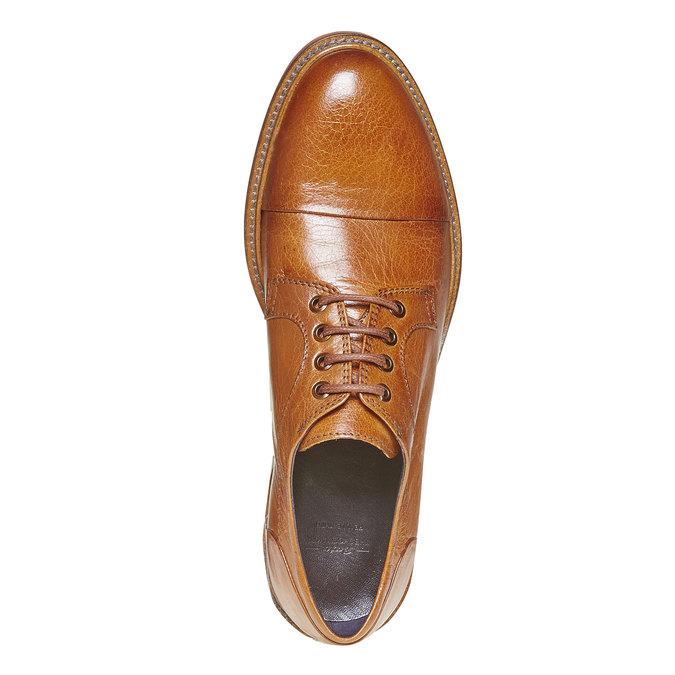 Chaussure en cuir homme bata-the-shoemaker, Brun, 824-3293 - 19