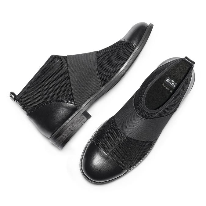 BATA Chaussures Femme bata, Noir, 591-6550 - 26