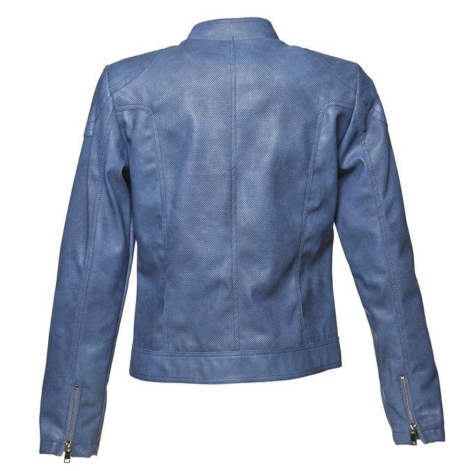 Veste perforée femme bleue bata, Violet, 971-9113 - 26