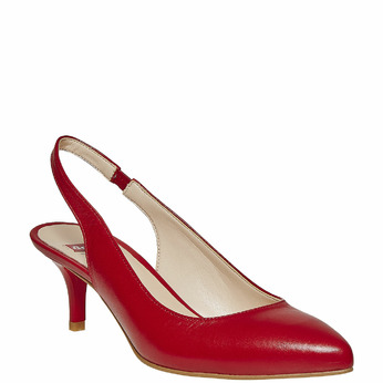 BATA Chaussures Femme bata, Rouge, 724-5677 - 13