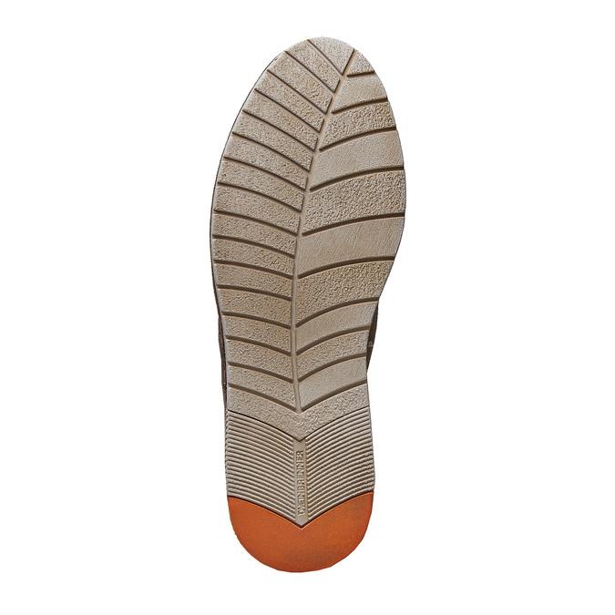 Chaussure lacée décontractée en cuir weinbrenner, Brun, 843-4414 - 26
