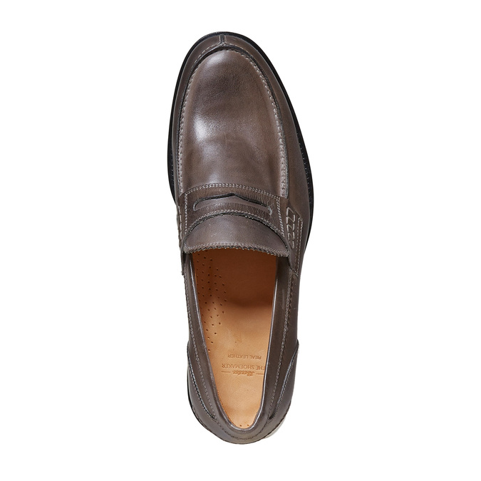 Penny Loafer en cuir bata-the-shoemaker, 814-2160 - 19