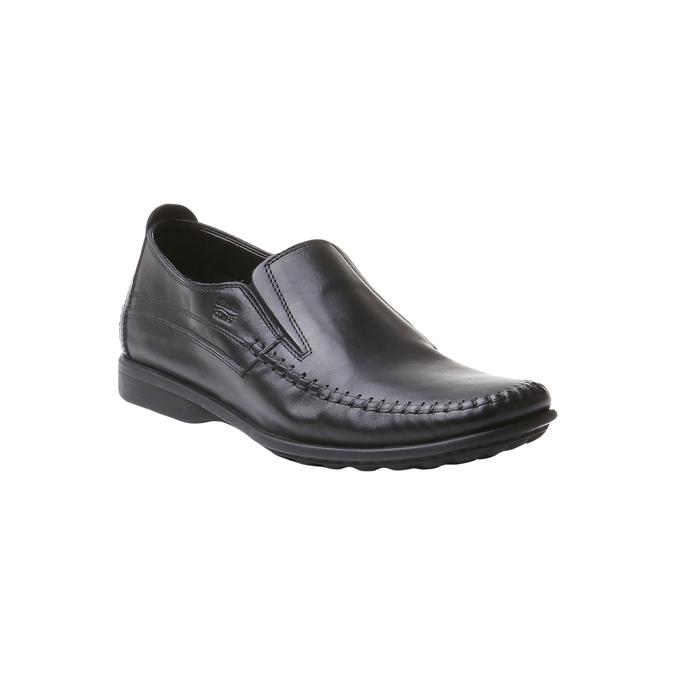 Loafers décontractées bata-comfit, Noir, 854-6833 - 13