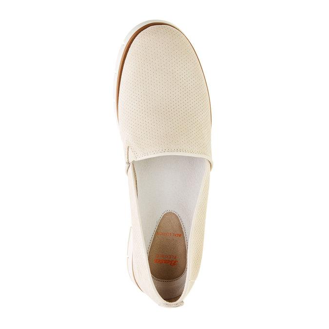 Slip on en cuir perforé flexible, Jaune, 513-8200 - 19