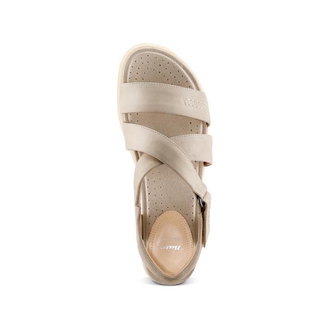 Women's shoes bata, Brun, 564-4351 - 17