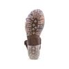 Sandale en cuir pour femme weinbrenner, Brun, 564-4254 - 19