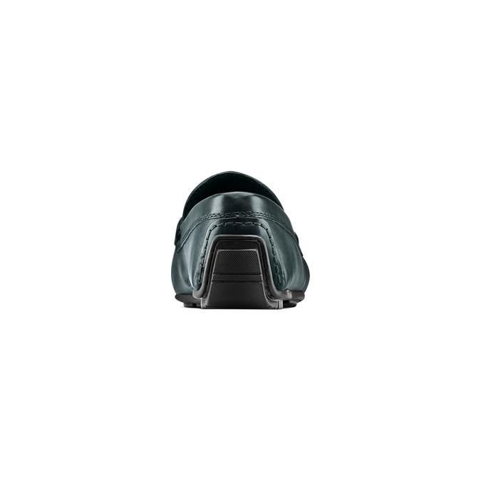 Mocassin en cuir homme bata, Vert, Bleu, 854-9178 - 15